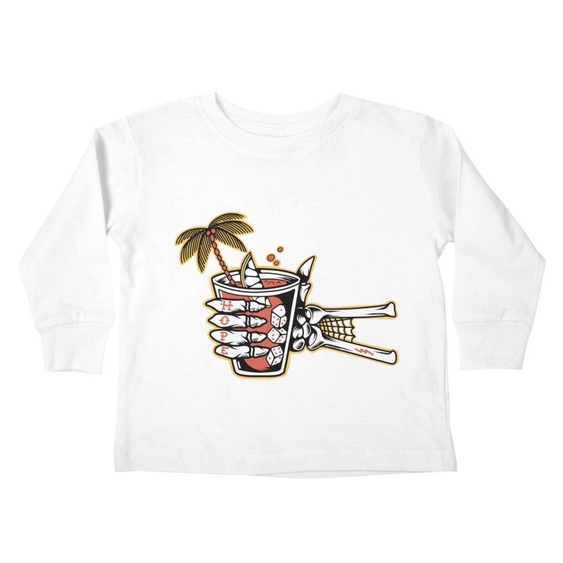 Hope cocktail Kids Toddler Longsleeve T-Shirt by Joe Tamponi