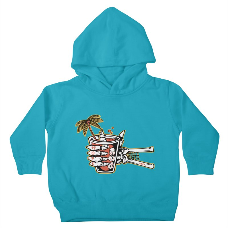 Hope cocktail Kids Toddler Pullover Hoody by Joe Tamponi