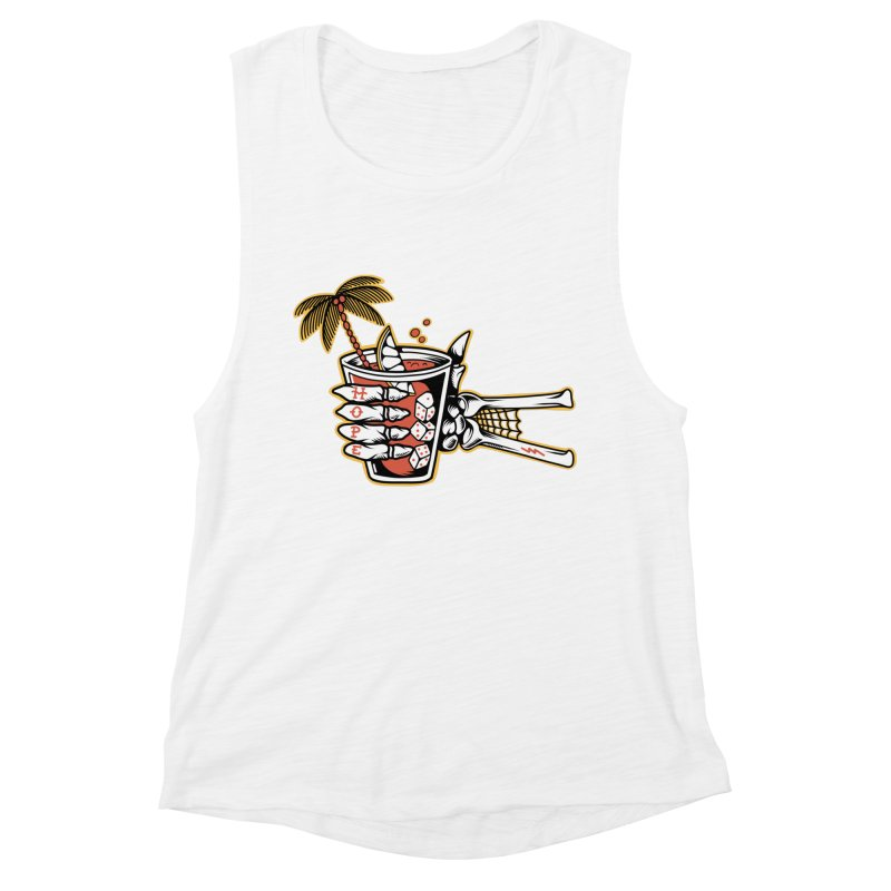 Hope cocktail Women's Muscle Tank by Joe Tamponi