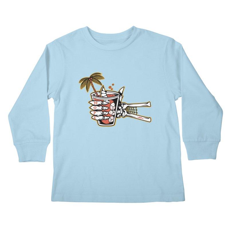Hope cocktail Kids Longsleeve T-Shirt by Joe Tamponi