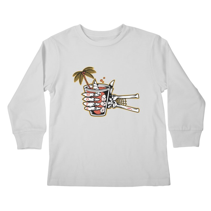 Hope cocktail Kids Longsleeve T-Shirt by Joe Tamponi