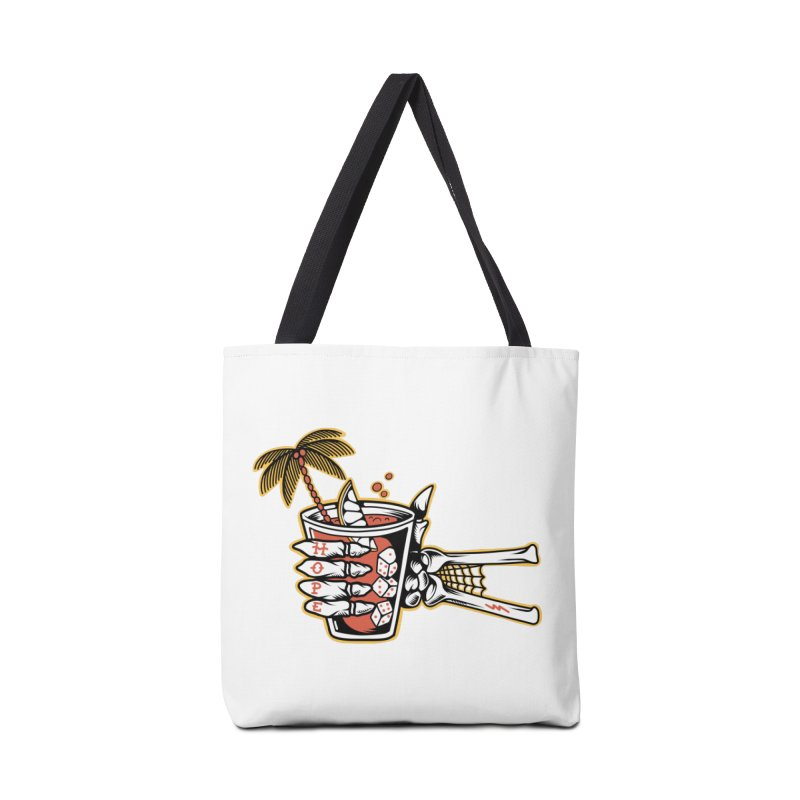 Hope cocktail Accessories Tote Bag Bag by Joe Tamponi