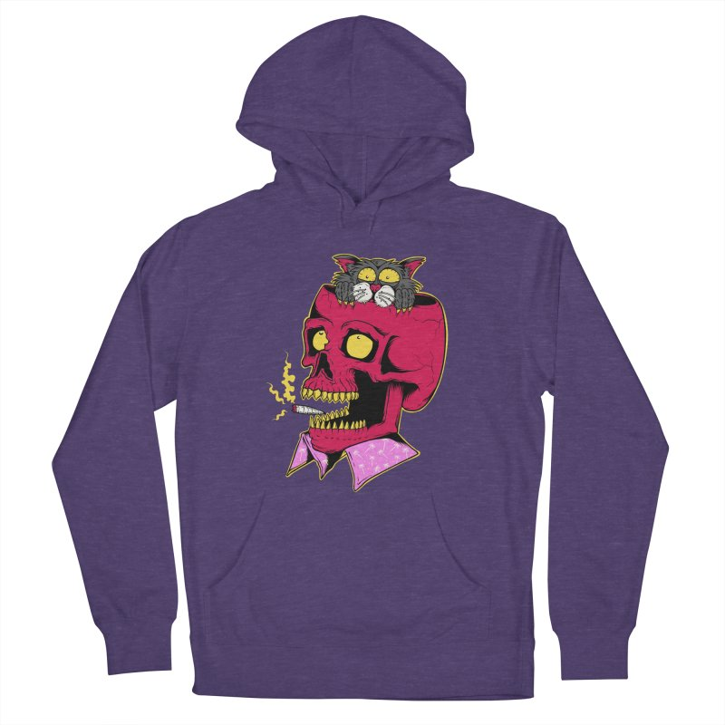 Dude, what the hell? Women's French Terry Pullover Hoody by Joe Tamponi