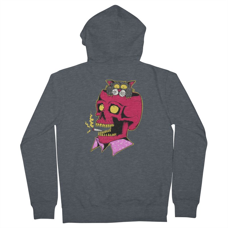 Dude, what the hell? Women's French Terry Zip-Up Hoody by Joe Tamponi