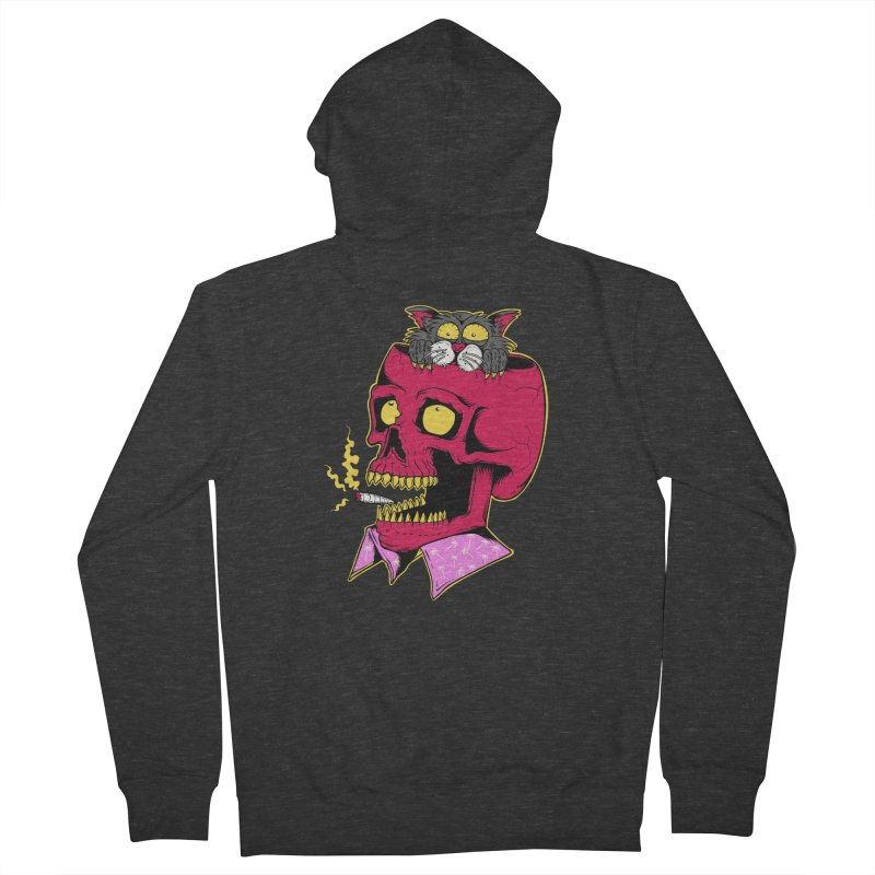 Dude, what the hell? Men's French Terry Zip-Up Hoody by Joe Tamponi