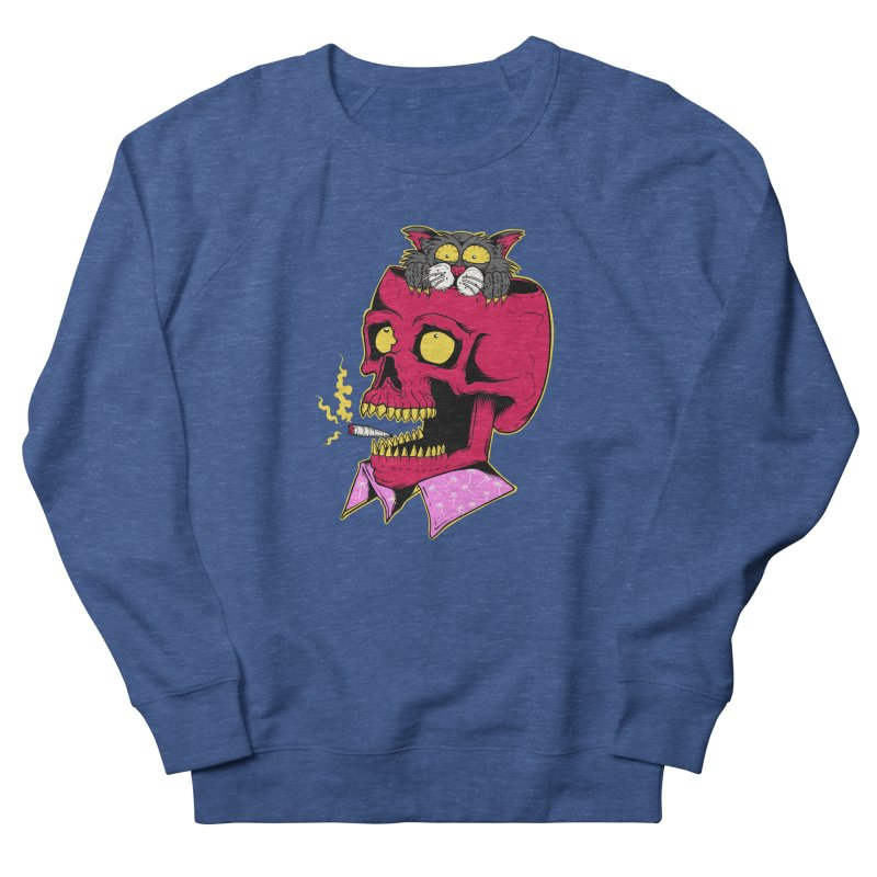 Dude, what the hell? Women's French Terry Sweatshirt by Joe Tamponi