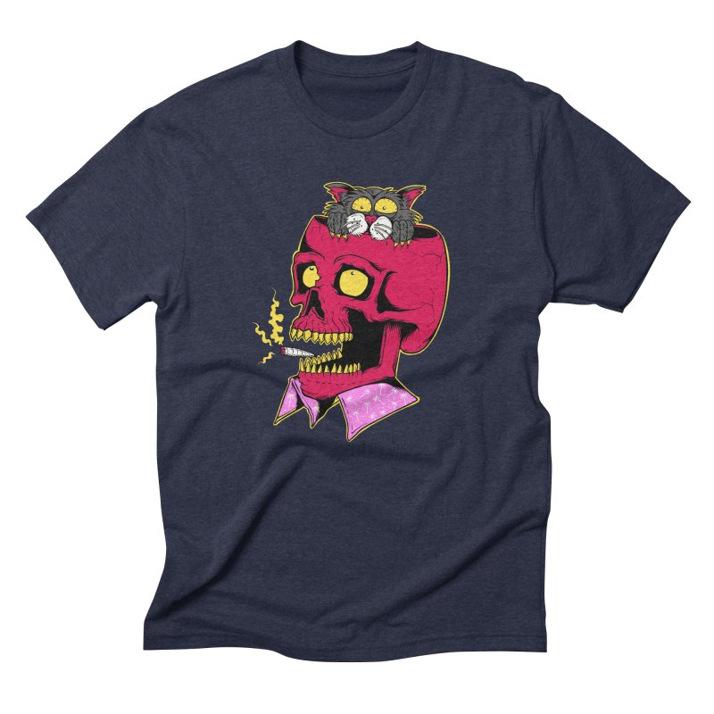 Dude, what the hell? Men's Triblend T-Shirt by Joe Tamponi