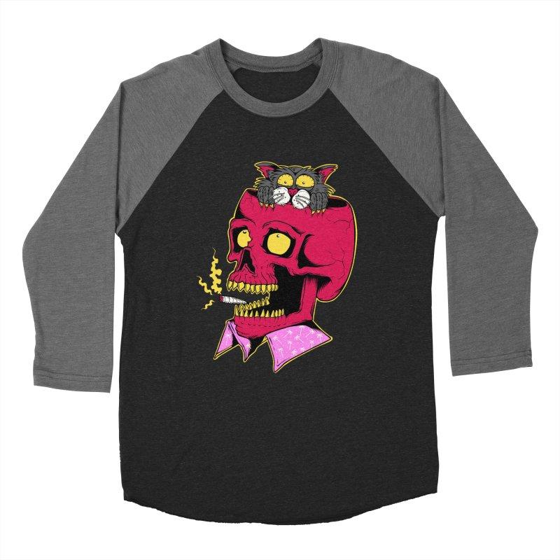 Dude, what the hell? Women's Baseball Triblend Longsleeve T-Shirt by Joe Tamponi