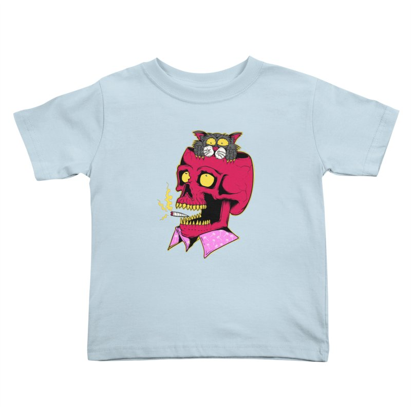 Dude, what the hell? Kids Toddler T-Shirt by Joe Tamponi