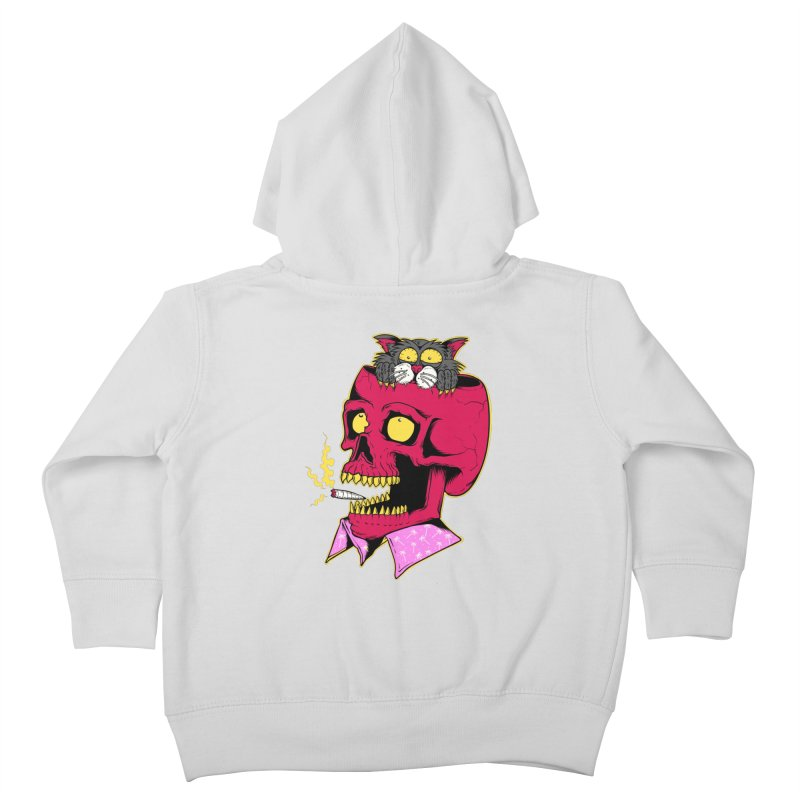 Dude, what the hell? Kids Toddler Zip-Up Hoody by Joe Tamponi