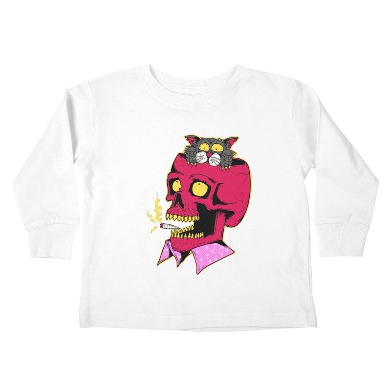 Dude, what the hell? Kids Toddler Longsleeve T-Shirt by Joe Tamponi