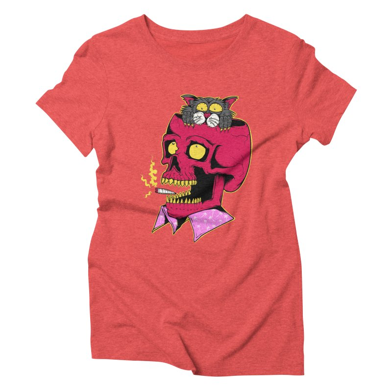 Dude, what the hell? Women's Triblend T-Shirt by Joe Tamponi