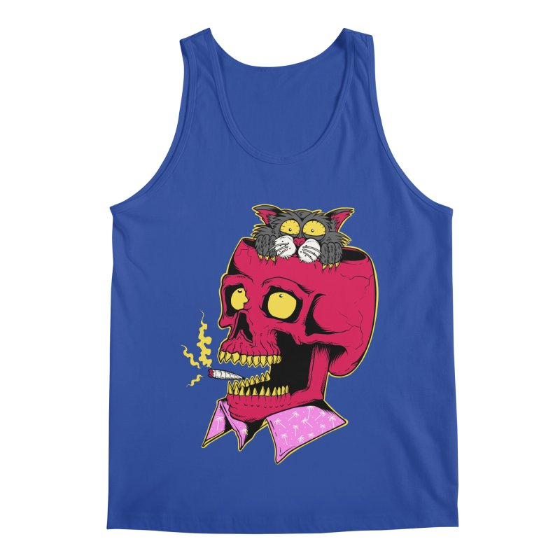 Dude, what the hell? Men's Regular Tank by Joe Tamponi
