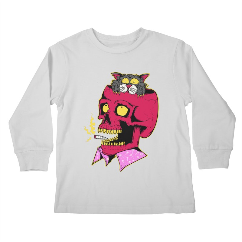 Dude, what the hell? Kids Longsleeve T-Shirt by Joe Tamponi