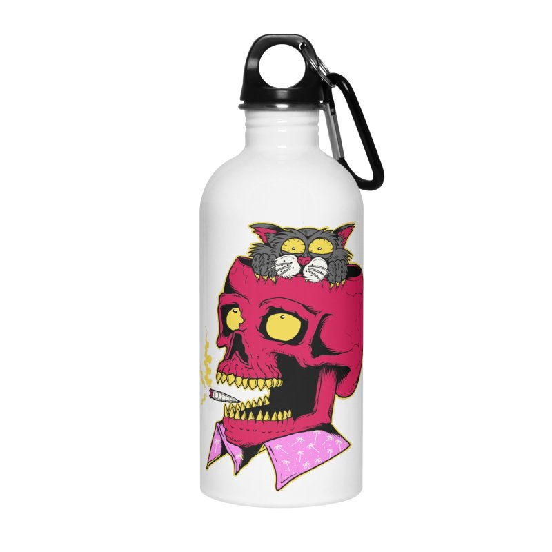 Dude, what the hell? Accessories Water Bottle by Joe Tamponi
