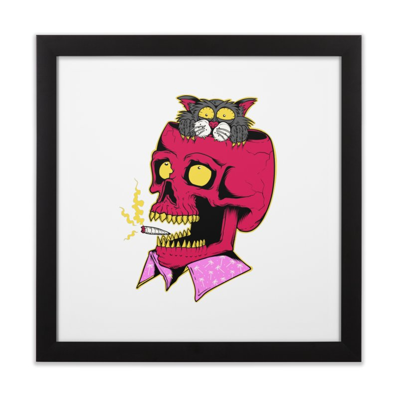 Dude, what the hell? Home Framed Fine Art Print by Joe Tamponi