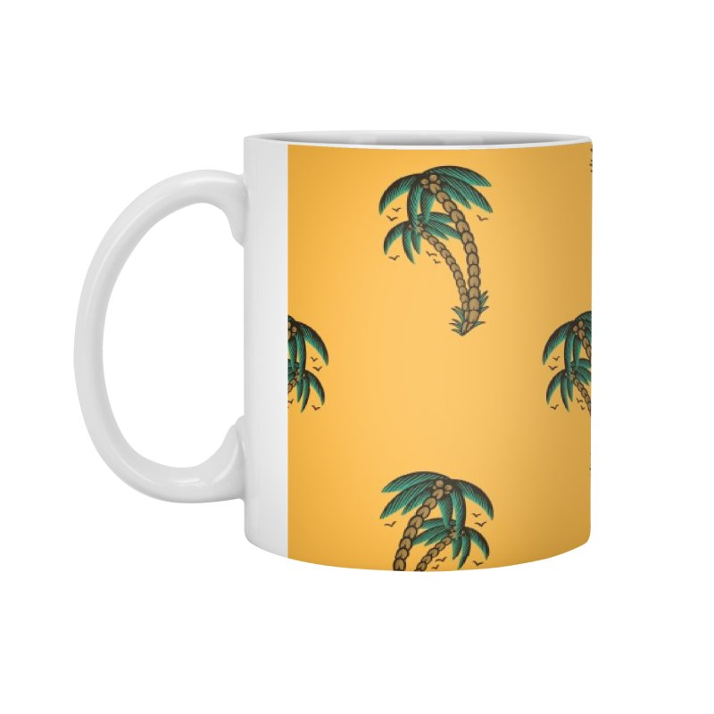 Palm Trees Skate deck Accessories Standard Mug by Joe Tamponi