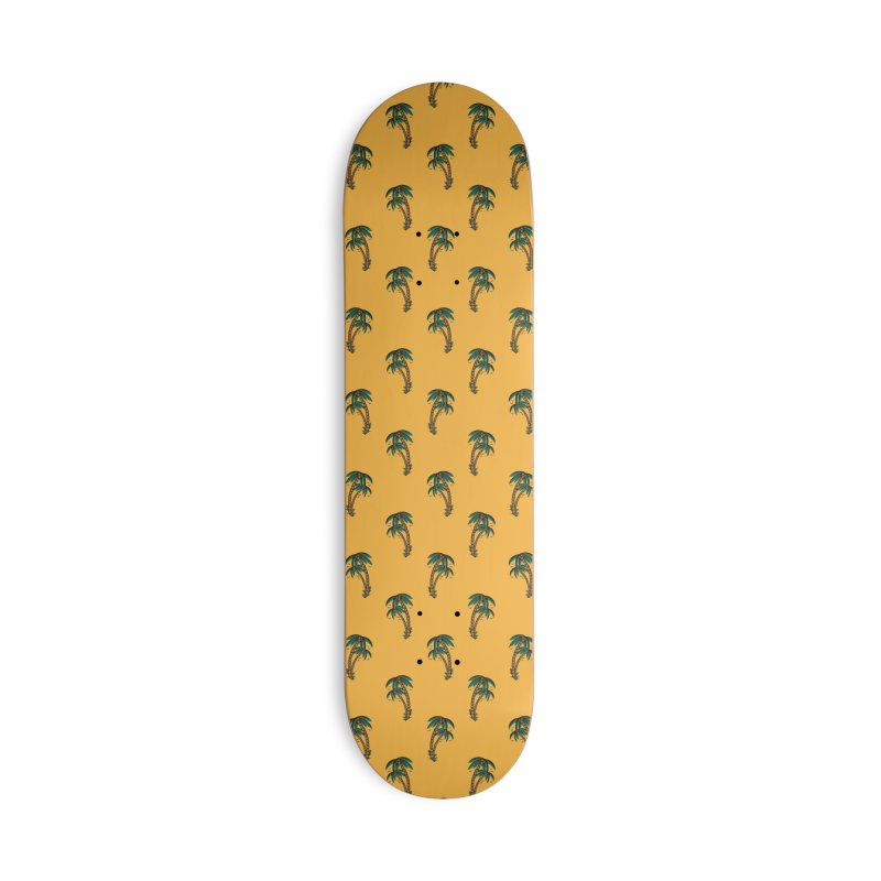 Palm Trees Skate deck Accessories Deck Only Skateboard by Joe Tamponi