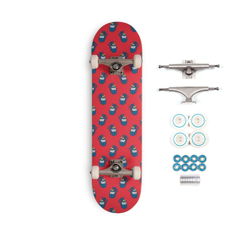 Toothpick Grenade skate deck Accessories Complete - Basic Skateboard by Joe Tamponi