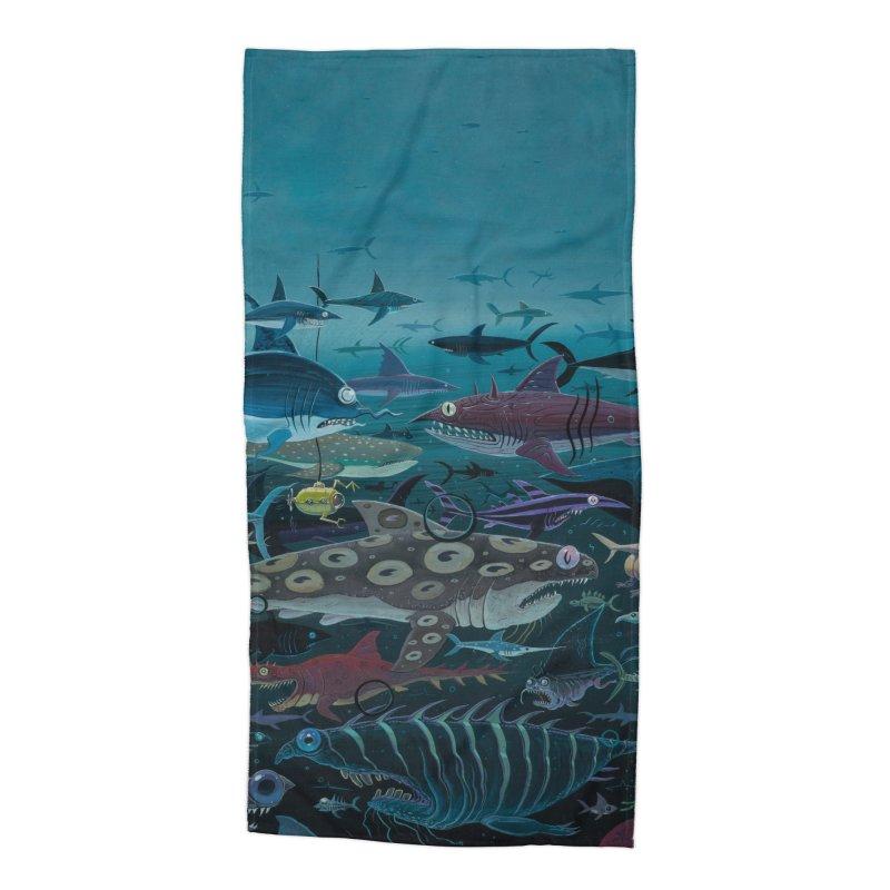 DEEP Accessories Beach Towel by joevaux's Artist Shop