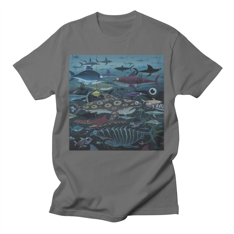 DEEP Men's T-Shirt by joevaux's Artist Shop