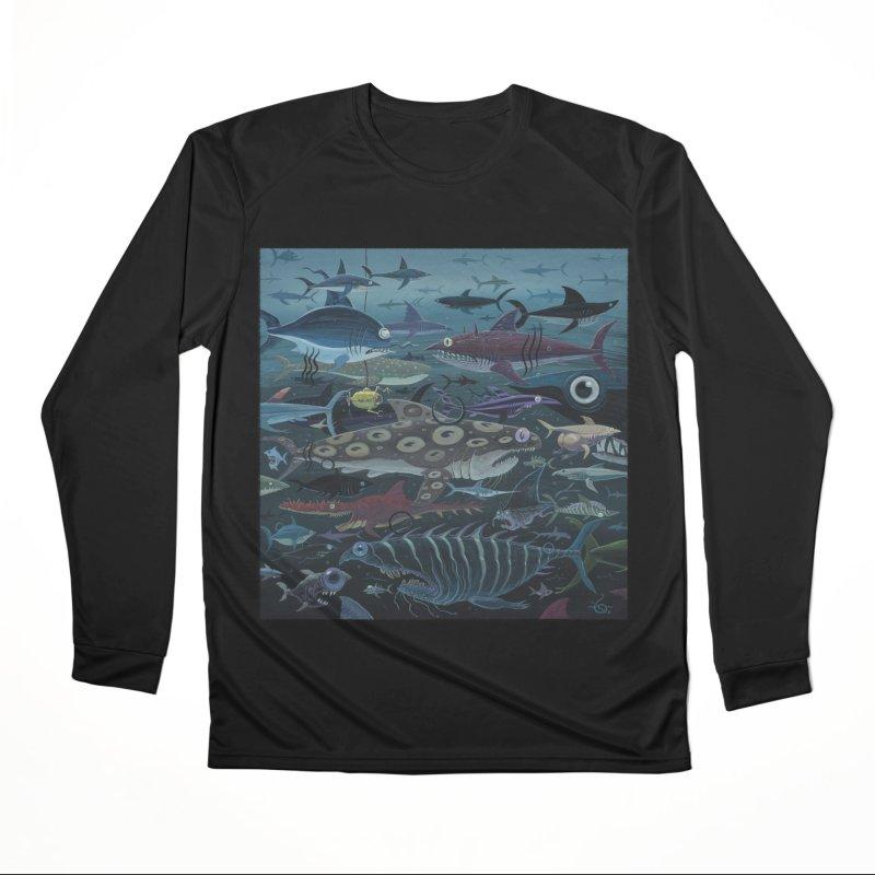 DEEP Women's Longsleeve T-Shirt by joevaux's Artist Shop