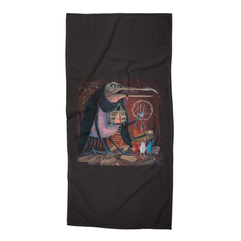 Untitled Accessories Beach Towel by joevaux's Artist Shop