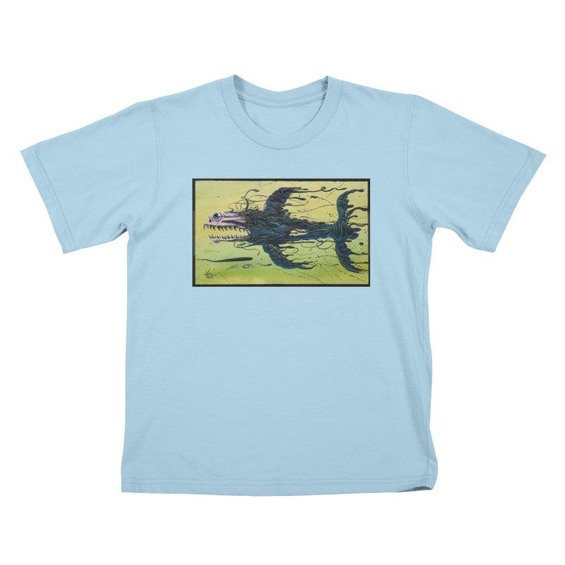 STRIPPED Kids T-Shirt by joevaux's Artist Shop