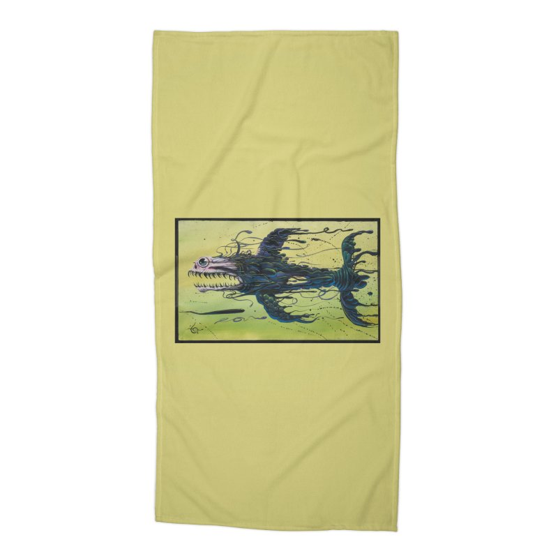 STRIPPED Accessories Beach Towel by joevaux's Artist Shop