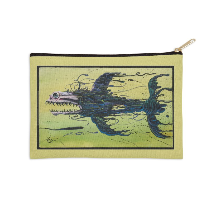 STRIPPED Accessories Zip Pouch by joevaux's Artist Shop