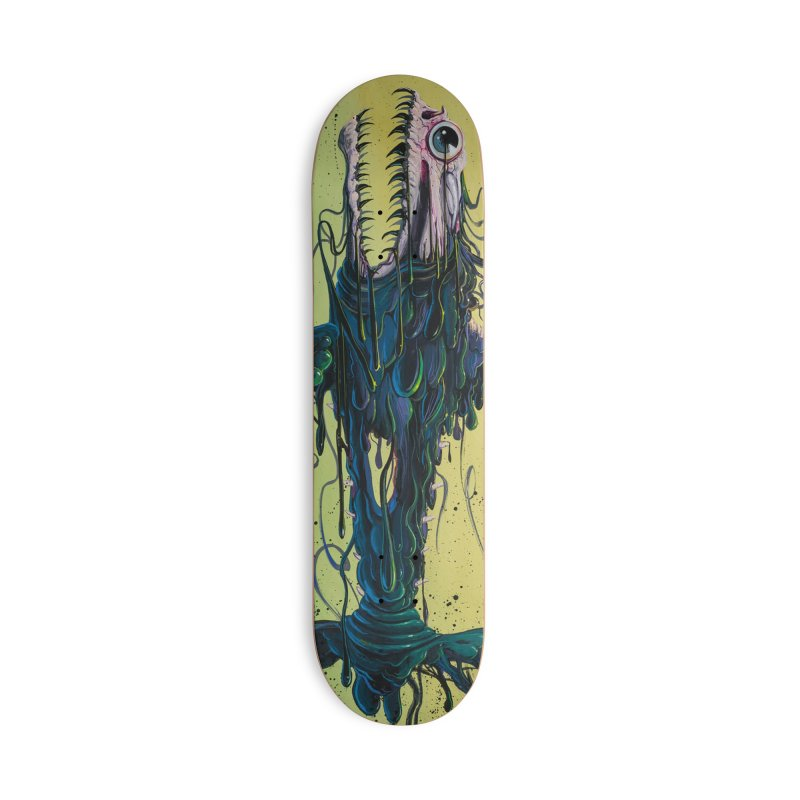STRIPPED Accessories Skateboard by joevaux's Artist Shop