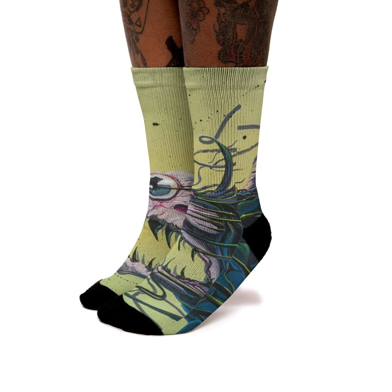 STRIPPED Women's Socks by joevaux's Artist Shop