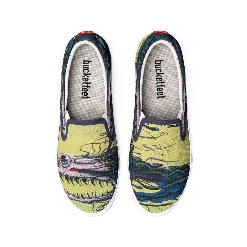 STRIPPED Men's Shoes by joevaux's Artist Shop
