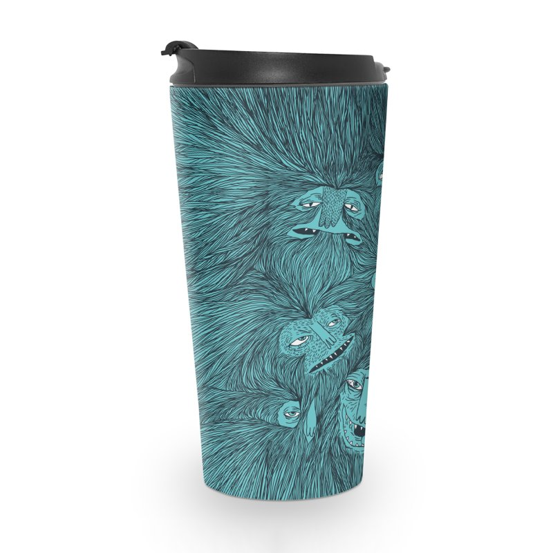 Hairwolves Accessories Travel Mug by Joe Van Wetering