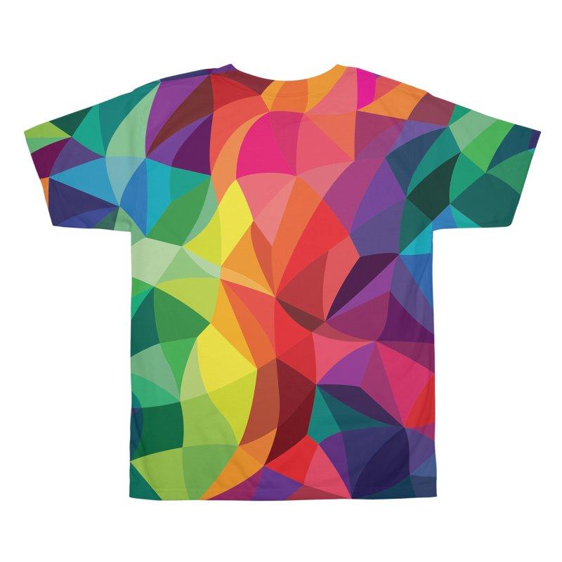 Color shards Men's All Over Print by Joe Van Wetering