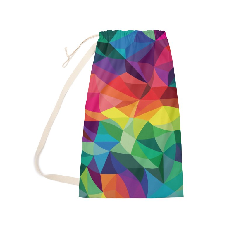 Color shards Accessories Laundry Bag Bag by Joe Van Wetering