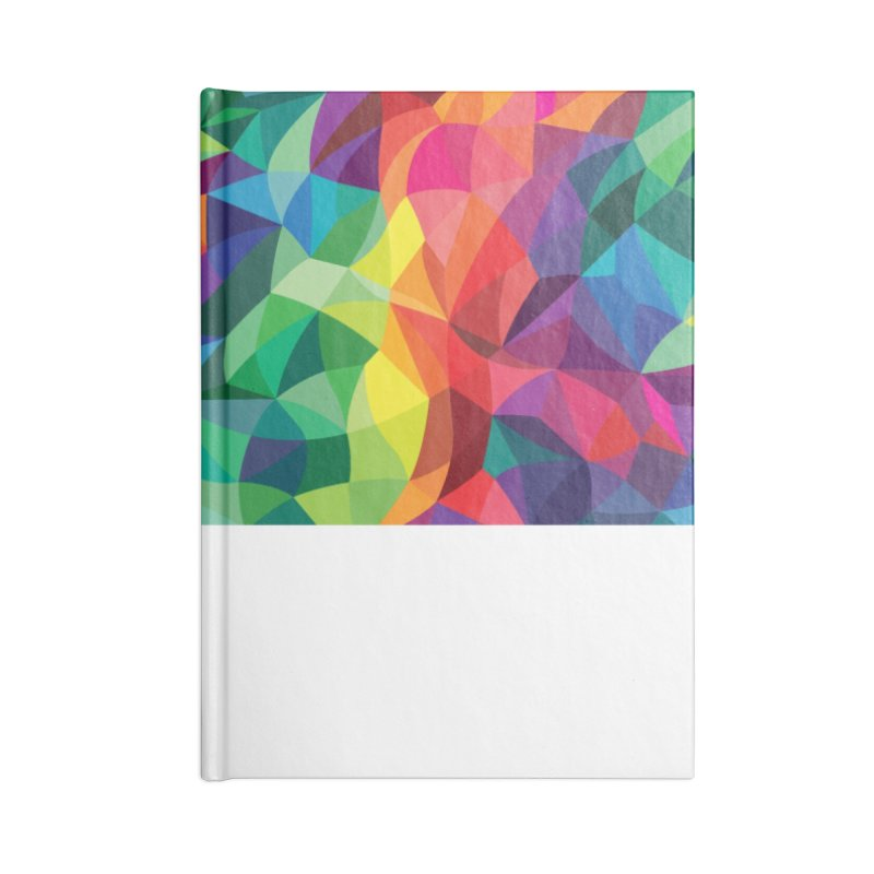Color shards Accessories Lined Journal Notebook by Joe Van Wetering