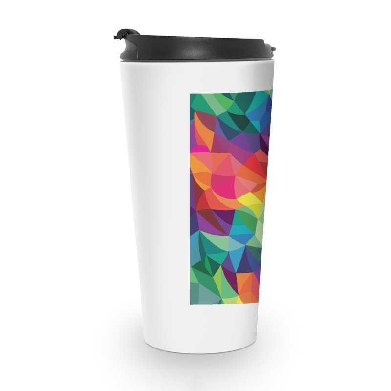 Color shards Accessories Travel Mug by Joe Van Wetering