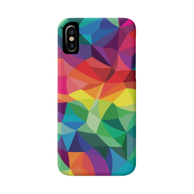 Color shards Accessories Phone Case by Joe Van Wetering