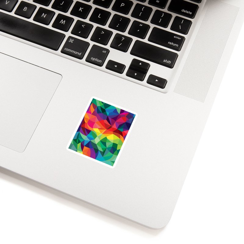 Color shards Accessories Sticker by Joe Van Wetering