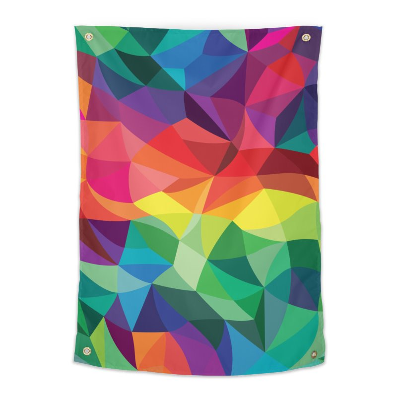 Color shards Home Tapestry by Joe Van Wetering