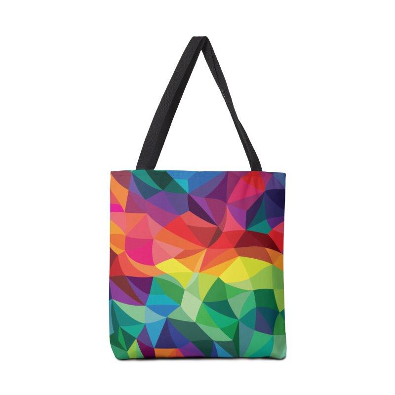 Color shards Accessories Tote Bag Bag by Joe Van Wetering