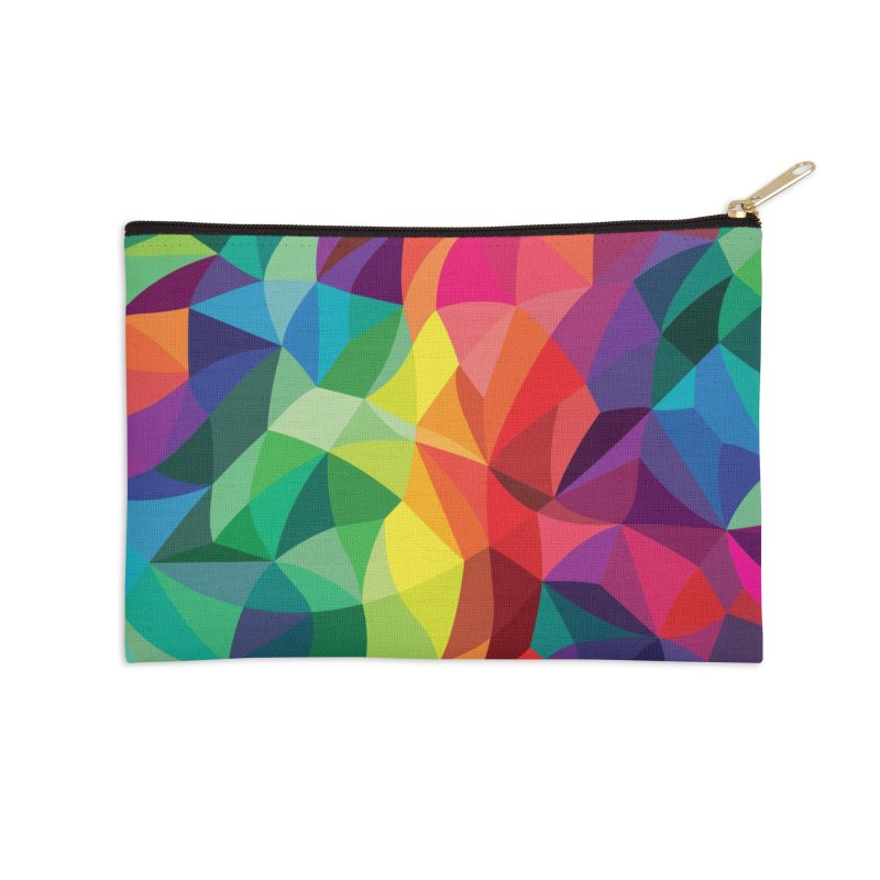 Color shards Accessories Zip Pouch by Joe Van Wetering