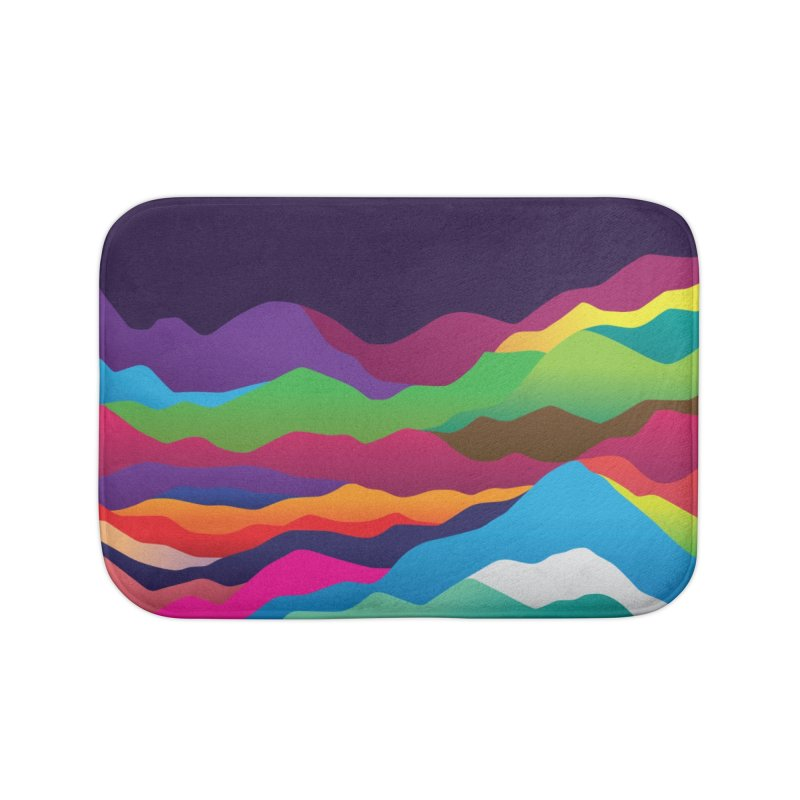 Mountains of Sand Home Bath Mat by Joe Van Wetering