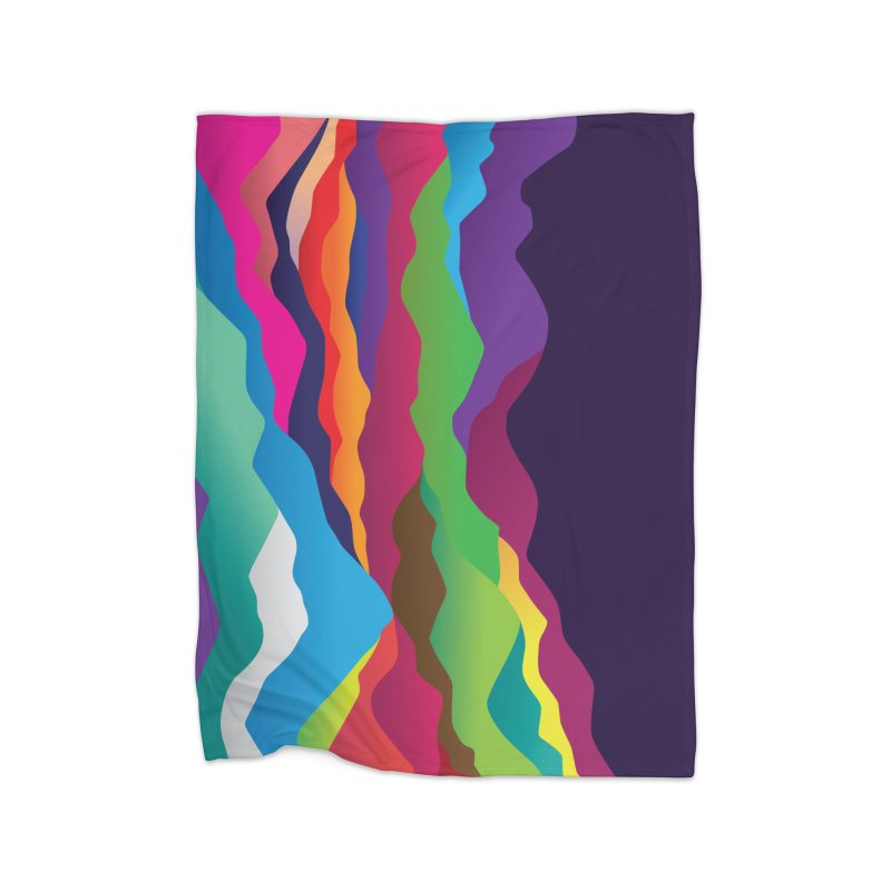 Mountains of Sand Home Fleece Blanket Blanket by Joe Van Wetering