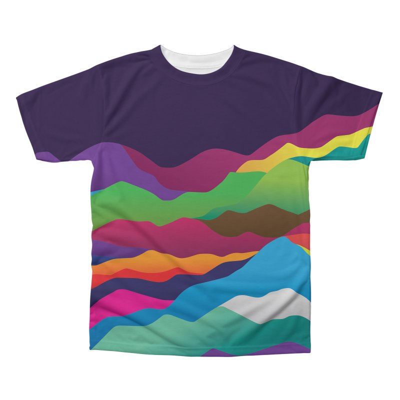 Mountains of Sand Men's Regular All Over Print by Joe Van Wetering