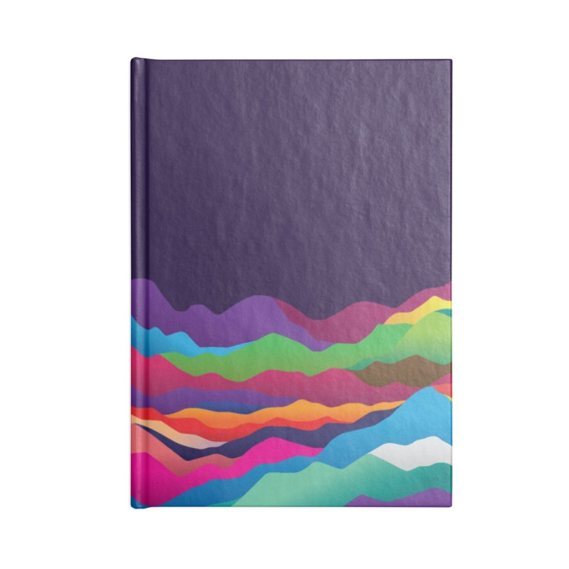 Mountains of Sand Accessories Blank Journal Notebook by Joe Van Wetering