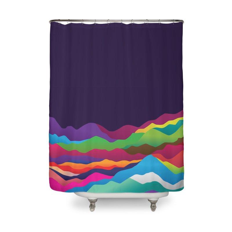 Mountains of Sand Home Shower Curtain by Joe Van Wetering