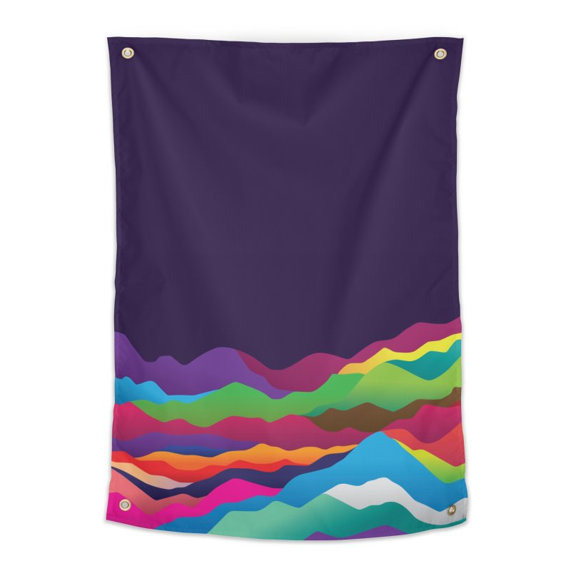 Mountains of Sand Home Tapestry by Joe Van Wetering