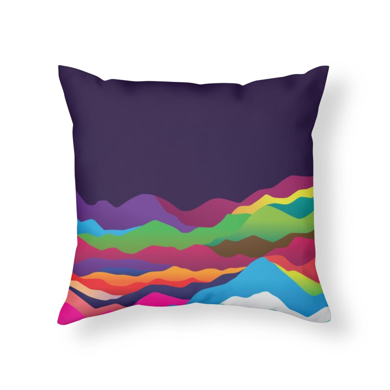 Mountains of Sand Home Throw Pillow by Joe Van Wetering